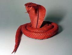 Origami Snake (Jaroslav Mishchenko)