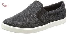 Crocs CitiLane Slip-on Sneaker, Sneakers Basses femme - Noir (Black Shimmer 0CB), 39/40 EU - Chaussures crocs (*Partner-Link)