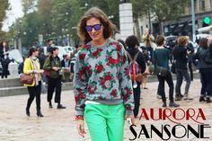 THE FASHION PACK: AURORA SANSONE
