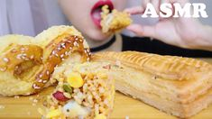 ASMR CRISPY SNACKS CRUNCHY EATING SOUNDS * Puff Pastry & Cookie * 과자 먹 방... Asmr, Snacks, Make It Yourself, Ethnic Recipes, Food, Autonomous Sensory Meridian Response, Appetizers, Essen, Meals