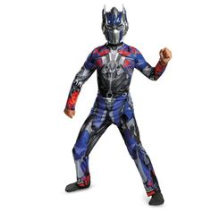 Disguise Hasbro Transformers Age of Extinction Movie Optimus Prime Classic Boys Costume, Small/4-6