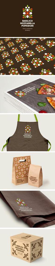 Basilico Mozzarella Pomodori on Behance