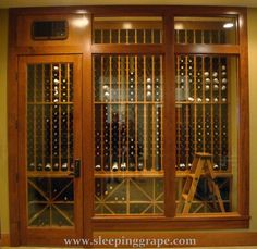 temperature controlled wine cellar enclosure.