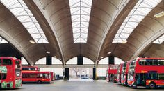 Stockwell Bus Garage // Ever been on a date with someone who was utterly gorgeous but duller than a Belgian politician listing their favourite types of rice? Well London is full of architectural equivalents – buildings that we wouldn't expect would get our pulses racing, but that are hot stuff in the looks department | Timeout London