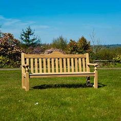 Alexander Rose Roble Rose Bench 6ft with Free Brass Plaque Link: http://www.hayesgardenworld.co.uk/product/alexander-rose-roble-rose-bench-6ft-free-brass-plaque