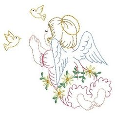 Vintage Prayer 7 - 3 Sizes! | What's New | Machine Embroidery Designs | SWAKembroidery.com Ace Points Embroidery
