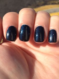 CND Shellac Midnight Swim - 2 coats
