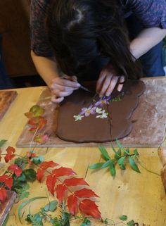 Choosing flowers and foliage