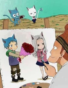 Happy and Carla - Fairy Tail.
