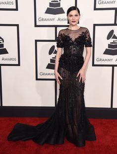2015 Grammy Awards Red Carpet - Jessie J.