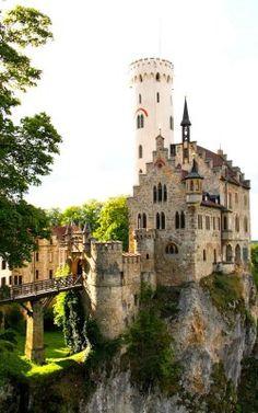 Lichtenstein Castle is really in Germany! www.germanyja.com