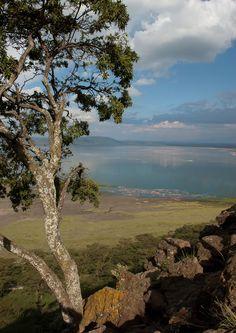 View from Baboon Cliff, Lake Nakuru National Park, Kenya