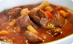 Paleo Lamb Stew (Crockpot) - Ultimate Diet Recipes-- I'm not okay with eating Mary's little lamb. :-< But stew is always yummy (minus the baby animals) Lamb Recipes, Cooking Recipes, Slow Cooking, Quick Recipes, Delicious Recipes, Chicken Recipes, Tasty, Italian Stew, Albanian Recipes