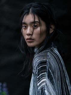 the silence of the sea: ming xi by gilles bensimon for vogue china january 2016   visual optimism; fashion editorials, shows, campaigns & more!