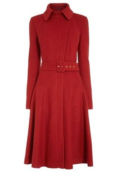 Fit And Flare Coat from the Next UK online shop