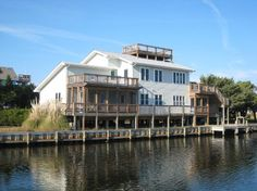 Spindrift a 4 Bedroom  Rental House in Ocracoke, part of the Outer Banks of North Carolina. Includes Waterfront
