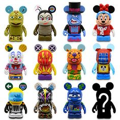 Vinylmation Park 11 Series Disney California Adventure - 3'' | Vinyl Figures | Disney Store | $12.95 each