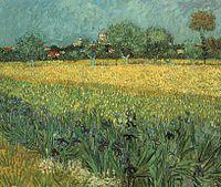 Vista de Arles com Lírios – Wikipédia, a enciclopédia livre