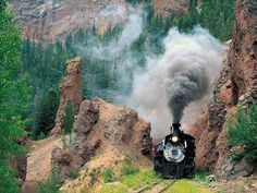 Cumbres & Toltec Scenic Railroad, Colorado