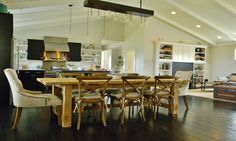 farmhouse kitchens and dining rooms - - Yahoo Image Search Results