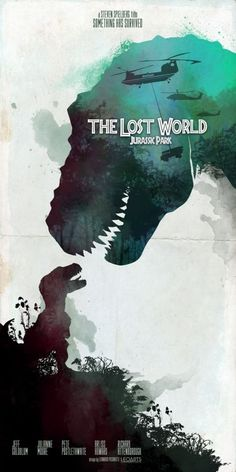 The Lost World: Jurassic Park -- I love this movie, and the T-Rex family is a big reason why. They're so sweet and awesome! The way the two parents handle the baby is adorable, and I'm cheering for them by the end of the movie every time I watch it. <3