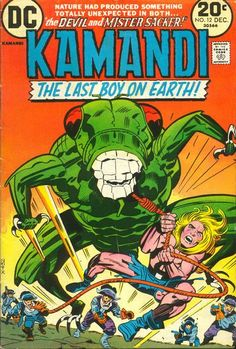 Kamandi: The Last Boy on Earth vol 1 #12