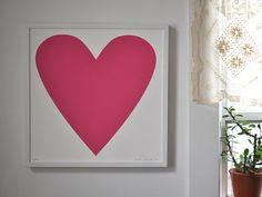 Pink Heart Print...baby mat