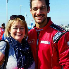 #DavidGandy with a fan today at #CowesTorquayCowes || 06/09/15