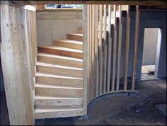 Staircase Carpentry by Suburban Framing, Inc. Framed Enclosed ...