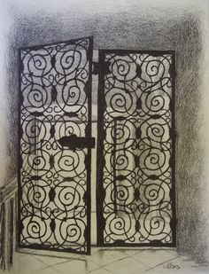 58Rautainenovi-pencildrawing-artist:AnitaIsännäinen-an old one:)