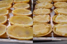 Batatas Assadas com Recheio de Frango
