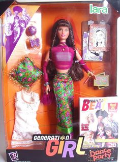 Generation Girl Dance Party Lara, 1999 by fashiondollcollector, via Flickr  {My all-time favorite Barbie doll and one of the only ones I kept!}