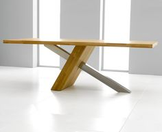 Buy the Chateau 225cm Solid Oak and Metal Dining Table with Kentucky Chairs at Oak Furniture Superstore