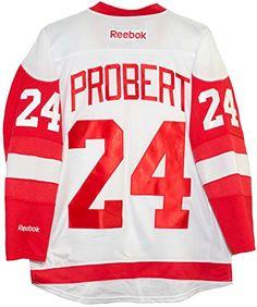 Red Wings Bob Probert Shirt Bob Probert d927f03a8