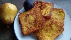 Fotorecept: Sladký toast s ovocím