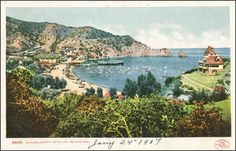 1907 Catalina postcard.