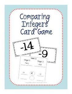 Upper Grades Are Awesome: Comparing Integers #learnmathfastsystem