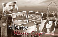 Collage creado por ©Blogliteraturabajolassabanas para la reseña de la bilogía Mírame de Marissa Cazpri