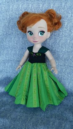"Disney Animator's Collection (16"" Doll) -  Anna's Coronation Dress, by WiggleAndRoo on Etsy"