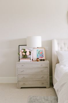 Bedroom via Emily Jackson / The Ivory Lane