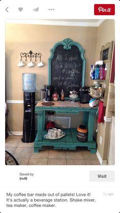 Coffee Nook, Coffee Bar Home, Home Coffee Stations, Coffee Corner, Coffee Bars, Coffee Maker, Cozy Coffee, Coffee Menu, Coffee Scrub