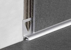 Skirting boards and design - TT Trims Aluminum Uses, Tile Edge, Skirting Boards, Baseboards, Tile Design, Architecture Details, Simple Designs, Door Handles, Stone