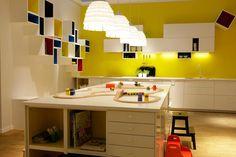 Teenage Room, Corner Desk, Kids Room, Rugs, Kitchen, Inspiration, Furniture, Basement, Decor Ideas