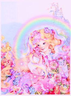 Vintage Barbie, Vintage Toys, Lady Lovely Locks, Childhood Memories, 1980s Childhood, Rainbow Brite, Retro Aesthetic, Cute Illustration, Magical Girl