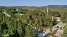 """Old border guard station at the border between Finland and Russia. In the background of Karhutunturi """"mountain in Lapland"""" Border Guard, Finland, Future, Outdoor, Life, Future Tense, Outdoors, Outdoor Games, Outdoor Living"""