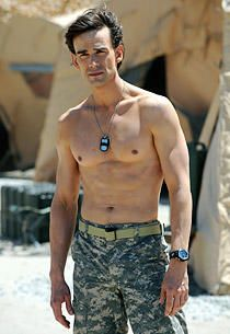 """A Covert Affairs Sight to Behold: Auggie's Blind Past Revealed with """"Plenty of Shirtlessness"""""""