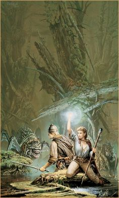 ELF QUEEN OF SHANNARA by Keith A. Parkinson