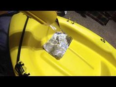 Kayak Hull Repair: HDPE Plastic Rod Welding Tutorial Using Basic Tools - YouTube