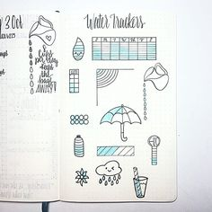 Came up with a few water tracking ideas! Which one is your favorite? #bulletjournaling #bujo #journal #plan #planner #agenda #planwithme #art #lettering #handwriting #handlettering #calligraphy #moderncalligraphy #doodles #sketch #planneraddict #bujolove #bulletjournaljunkies #bujoinspire #notebook #bujoy #bulletjournalcommunity #bulletjournalers #bujojunkies #bulletjournallove #watertracker