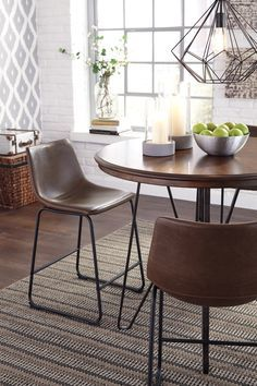 Pin By Meubles Ashley Homestore On Urbanology Counter Height Dining Room Tables Dining Table In Kitchen Dining Table